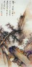 长松图,山水名画,中国现代名画,
