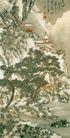 雪中访友图,山水名画,中国现代名画,