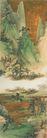 青绿山水图,山水名画,中国现代名画,