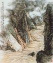 龙羊峡图],山水名画,中国现代名画,