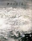 江山如此多娇1,傅抱石,中国近代大师名画,