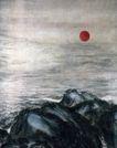 江山如此多娇2,傅抱石,中国近代大师名画,