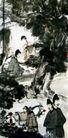 琵琶行1,傅抱石,中国近代大师名画,古人 生活 写真