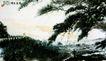 雨花台颂,傅抱石,中国近代大师名画,