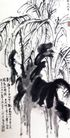 绿天歧秀,刘海栗,中国近代大师名画,热带 胶林 密集