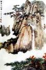 黄帝炼丹台,张大千,中国近代大师名画,