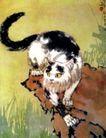 猫,徐悲鸿,中国近代大师名画,