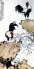 群鸡],徐悲鸿,中国近代大师名画,