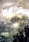 西玛拉雅山之二,徐悲鸿,中国近代大师名画,