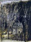 歌德写作小屋,李可染,中国近代大师名画,