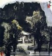 水墨小品,李可染,中国近代大师名画,