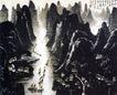 漓江胜境,李可染,中国近代大师名画,