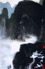 漫写漓江烟雨,李可染,中国近代大师名画,