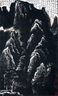 积墨山水(a),李可染,中国近代大师名画,山脉 题跋 文字
