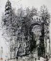 苏州虎丘,李可染,中国近代大师名画,