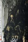 雨后听瀑图,李可染,中国近代大师名画,李可染 画作 名画