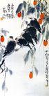 霜色添寒懒,李苦禅,中国近代大师名画,