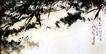春草池塘诗意2,潘天寿,中国近代大师名画,雪地 雪景 美景