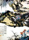 灵岩涧一角,潘天寿,中国近代大师名画,