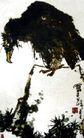 老鹫图,潘天寿,中国近代大师名画,