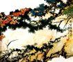记写雁荡山花,潘天寿,中国近代大师名画,