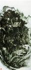 设色山水8,黄宾虹,中国近代大师名画,黄宾虹 作品 名画