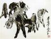群羊,黄胄,中国近代大师名画,