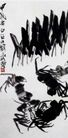 蟹2,齐白石,中国近代大师名画,齐白石作品