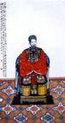 黎夫人像,齐白石,中国近代大师名画,