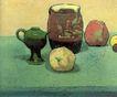 静物油画0010,静物油画,国外传世名画,酒樽 高脚 窑缸