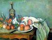 静物油画0018,静物油画,国外传世名画,水果 摆放 酒瓶