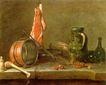 静物油画0022,静物油画,国外传世名画,瓷器 碗罐 餐具
