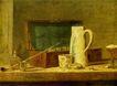静物油画0026,静物油画,国外传世名画,瓷器 杯子 箱子
