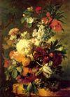 静物油画0031,静物油画,国外传世名画,花朵 菊花 玫瑰