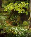 静物油画0032,静物油画,国外传世名画,野花 树叶 绿叶