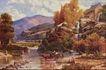 风景油画0158,风景油画,国外传世名画,浓重颜色