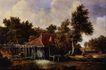 风景油画0161,风景油画,国外传世名画,房子