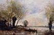风景油画0167,风景油画,国外传世名画,树枝