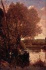 风景油画0194,风景油画,国外传世名画,树木风景