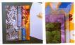 中外书籍装帧设计0163,中外书籍装帧设计,书籍装帧设计,猎豹 拼图 色块