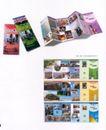 刊物设计0040,刊物设计,书籍装帧设计,折页 风景 名生