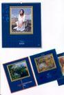 刊物设计0044,刊物设计,书籍装帧设计,美女 底色 景色