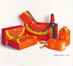 装潢艺术设计作品0162,装潢艺术设计作品,包装设计,半圆 酒杯 红色