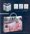 包装创意0025,包装创意,包装设计,袋子 床铺 孩子