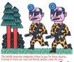 王翰尼0087,王翰尼,世界十大设计名家,大树 枪支 制服