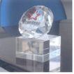 河北省影视家协会-003,传媒,中国品牌年鉴2004,奖杯 方形底座 钻石造型
