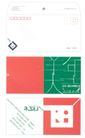 苏州一画艺术有限公司-002,广告,中国品牌年鉴2004,信封 几何图案 多彩