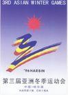 第三届亚洲冬季运动会-003,文娱体育,中国品牌年鉴2004,运动会标志