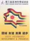 第三届亚洲冬季运动会-004,文娱体育,中国品牌年鉴2004,彩色图案设计