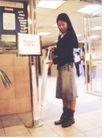 公益0034,公益,中国广告作品年鉴2004,牛仔群 短靴 女人 长发女孩